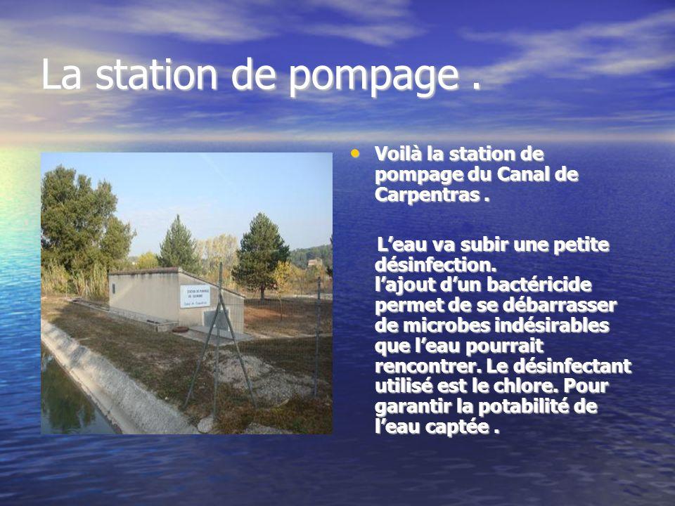 Le Canal de Carpentras. Le Canal de Carpentras. Le Canal de Carpentras. Leau de la Durance, amenée par le Canal de Carpentras, est à la base de la ric