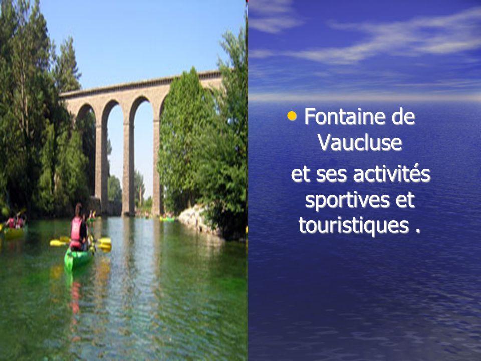 lAqueduc de Galas à Fontaine de Vaucluse. lAqueduc de Galas à Fontaine de Vaucluse. Voici lAqueduc où nous avons calculer le débit du canal. Voici lAq