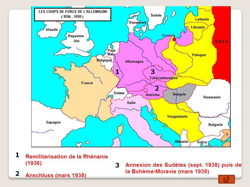 1942 Reconquête du Pacifique par les É.U. : le Japon est repoussé. Août 1944 : Débarquement en Provence. Juin 1944 Débarque- ment en Normandie. Avril