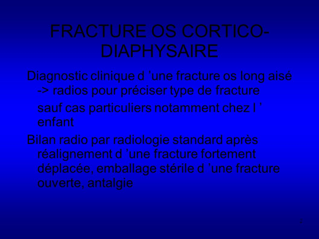 43 Fractures complexes