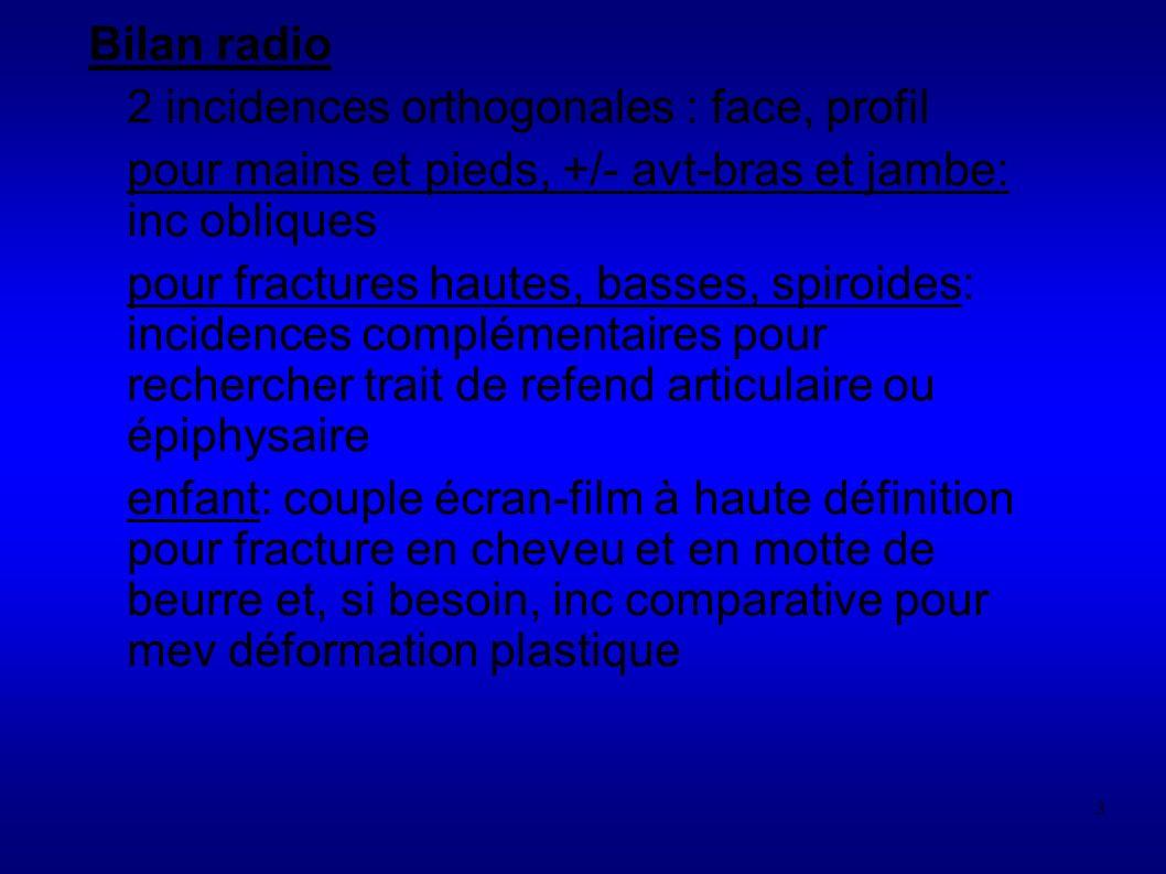 234 LUXATION GLENO-HUMERALE Lésions associées - lésions coiffe des rotateurs (en général après 40 ans - ruptures labrales supérieures - lésions neurologiques Opposer les luxations - Traumatiques- volontaires Unilatérales Bilatérales Bankart ->chir hyperlaxité -> rééduc Mais spectre très varié