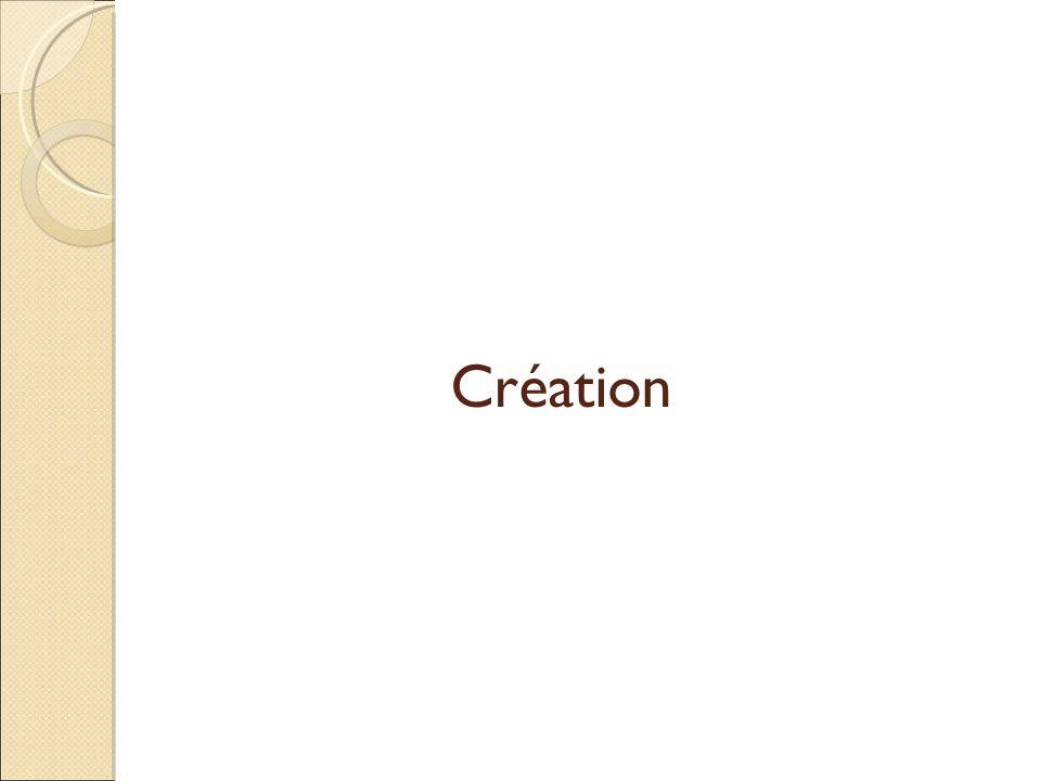 Création