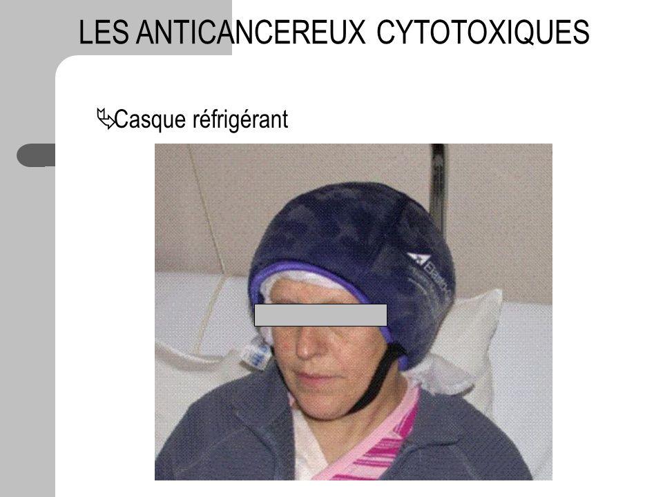Casque réfrigérant LES ANTICANCEREUX CYTOTOXIQUES
