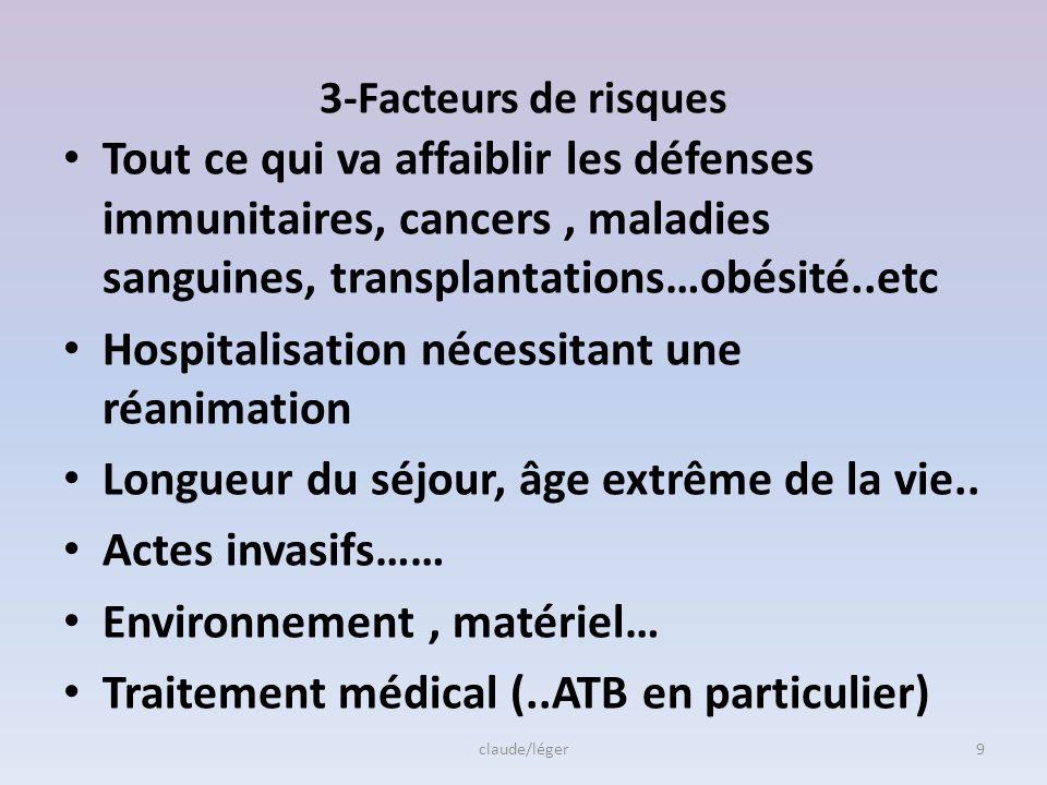 Qui est concerné???? Rappel : IAS ou IN= différence avec Infection communautaire Patient en priorité, pourquoi??? Changement de la flore résidente, tr