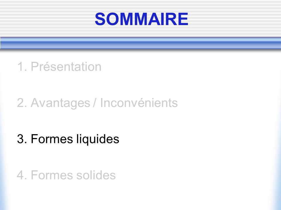 3.FORMES LIQUIDES 3.1.
