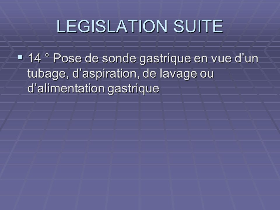 INDICATIONS : QUI SONT CES PATIENTS .