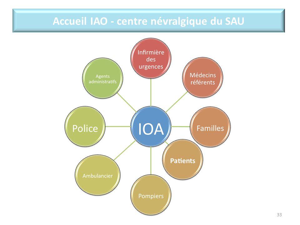 33 Accueil IAO - centre névralgique du SAU