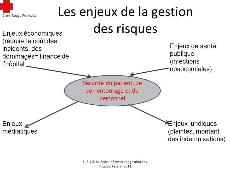 Les enjeux de la gestion des risques U.E 4.5.S4 Soins infirmiers et gestion des risques.