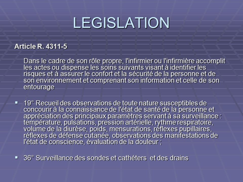 LEGISLATION SUITE Article R.
