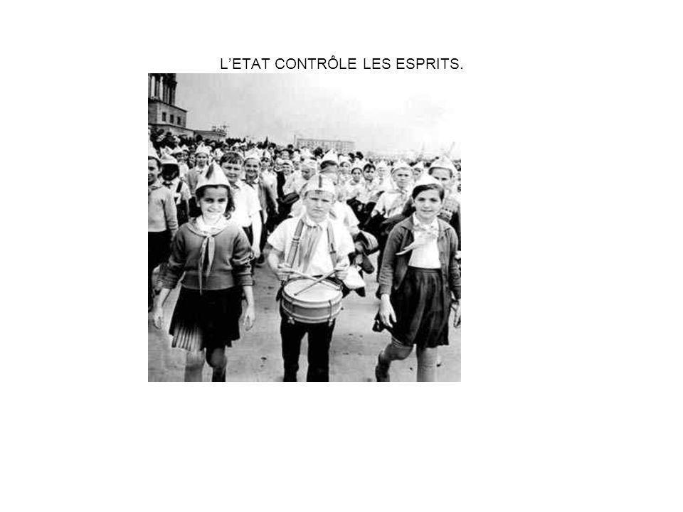 LETAT CONTRÔLE LES ESPRITS.
