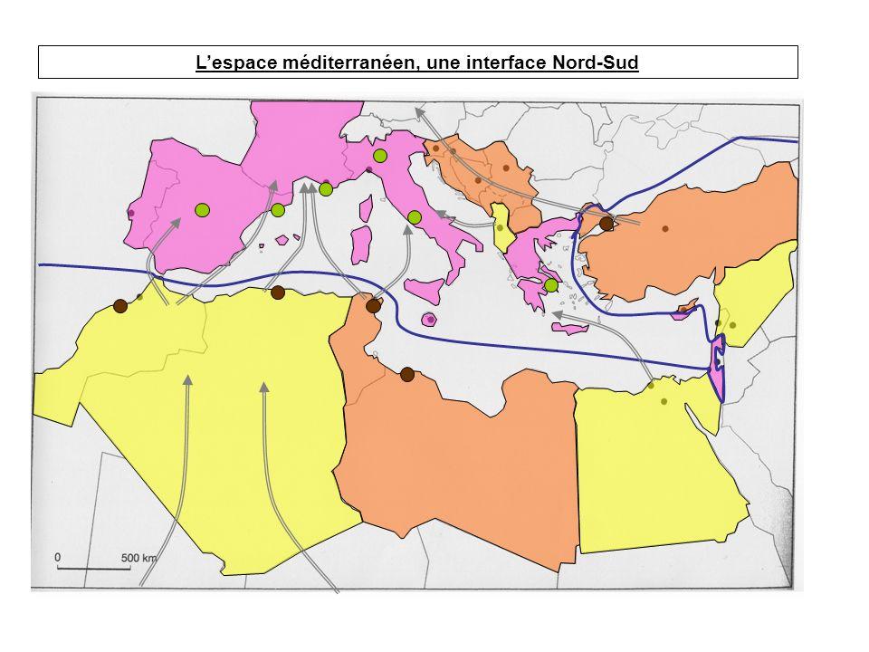 I.Lespace méditerranéen: une rupture Nord-Sud I.D.H.