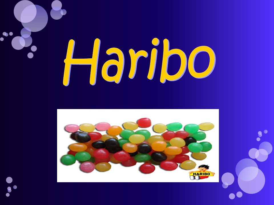 1920: Création de la société HARIBO par lallemand Hans Riegel.