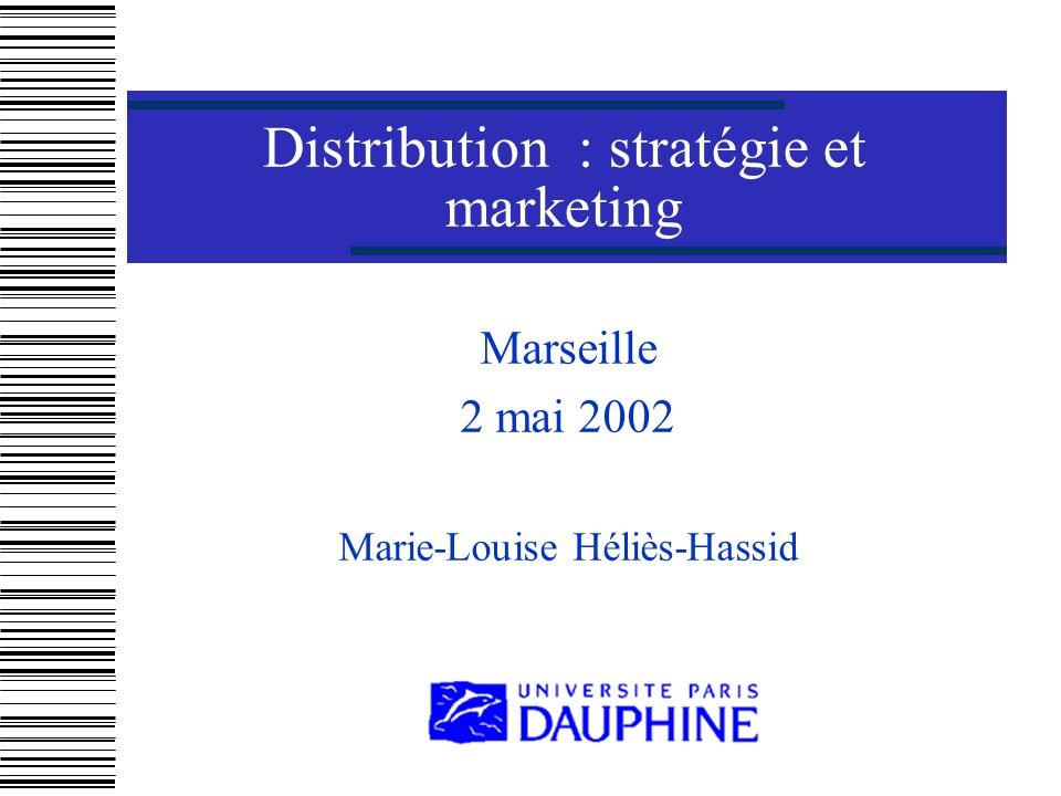 MLH La domination par les coûts Définition et principe Conditions de mise en œuvre Exemple : Aldi