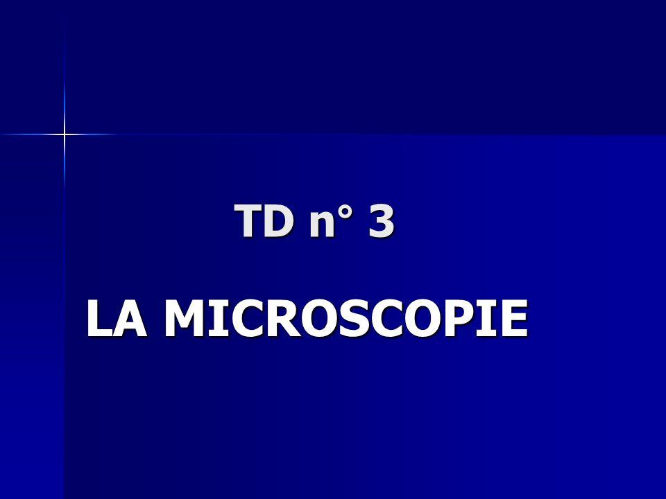 La microscopie La microscopie est un ensemble de techniques permettant d obtenir une image des structures biologiques.