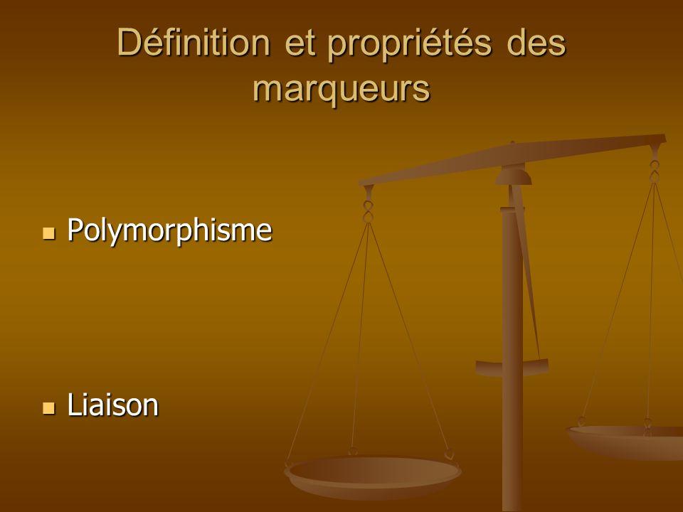 RFLP Marqueur ADN Sonde ADN: -Radioactif -Fluorescente Enzyme de restriction