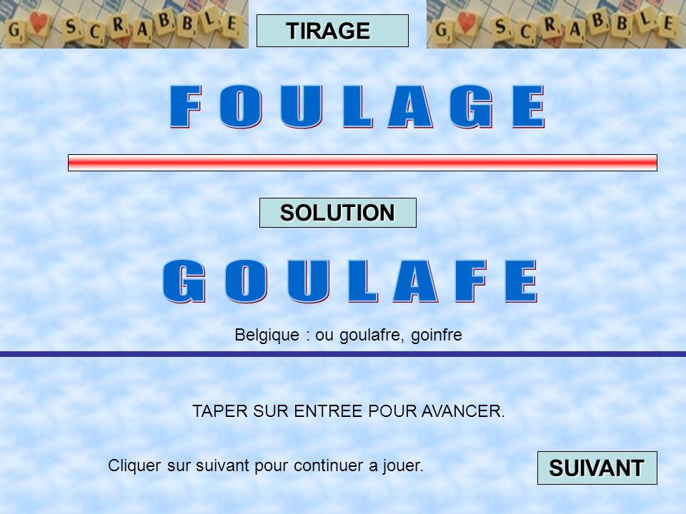 Cliquer sur suivant pour continuer a jouer. SUIVANT TAPER SUR ENTREE POUR AVANCER. TIRAGE SOLUTION Helvétique : Pièce d' or de 20 francs