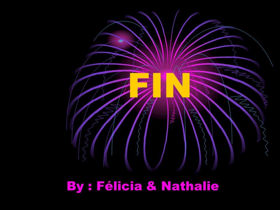 FIN By : Félicia & Nathalie