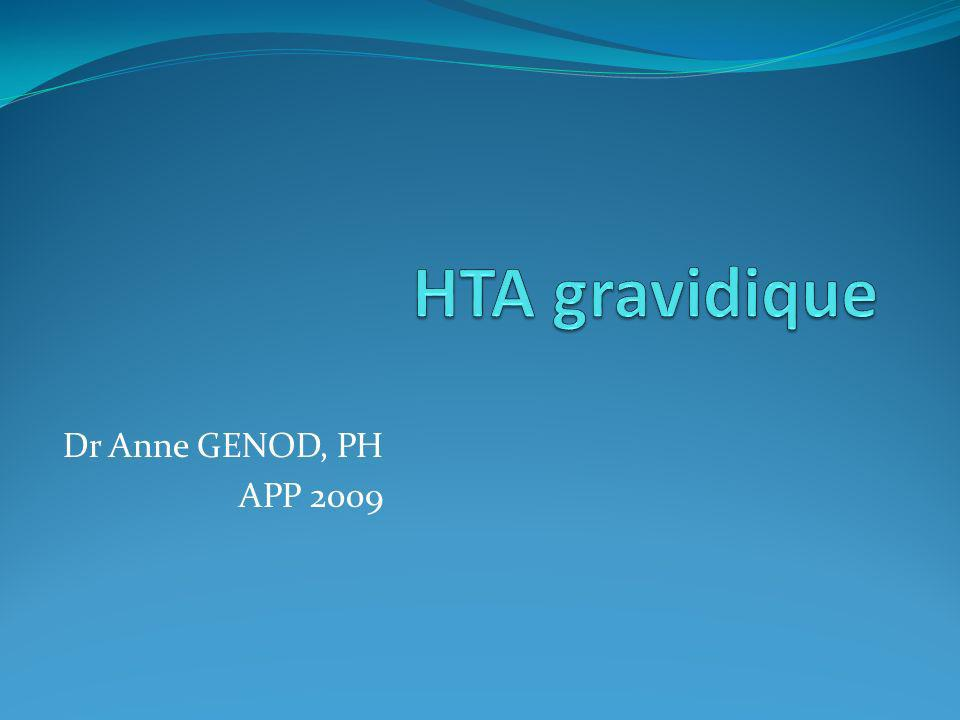 Dr Anne GENOD, PH APP 2009