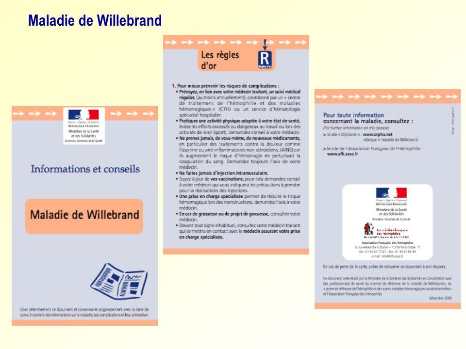 Maladie de Willebrand