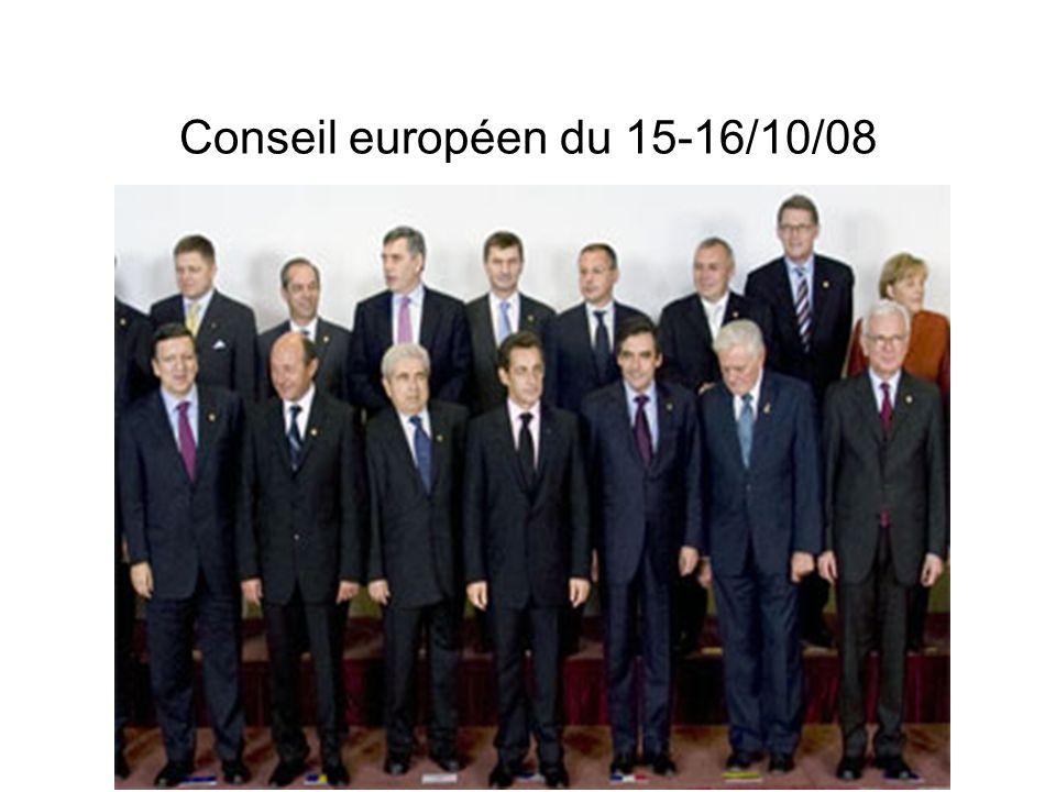 Conseil européen du 15-16/10/08