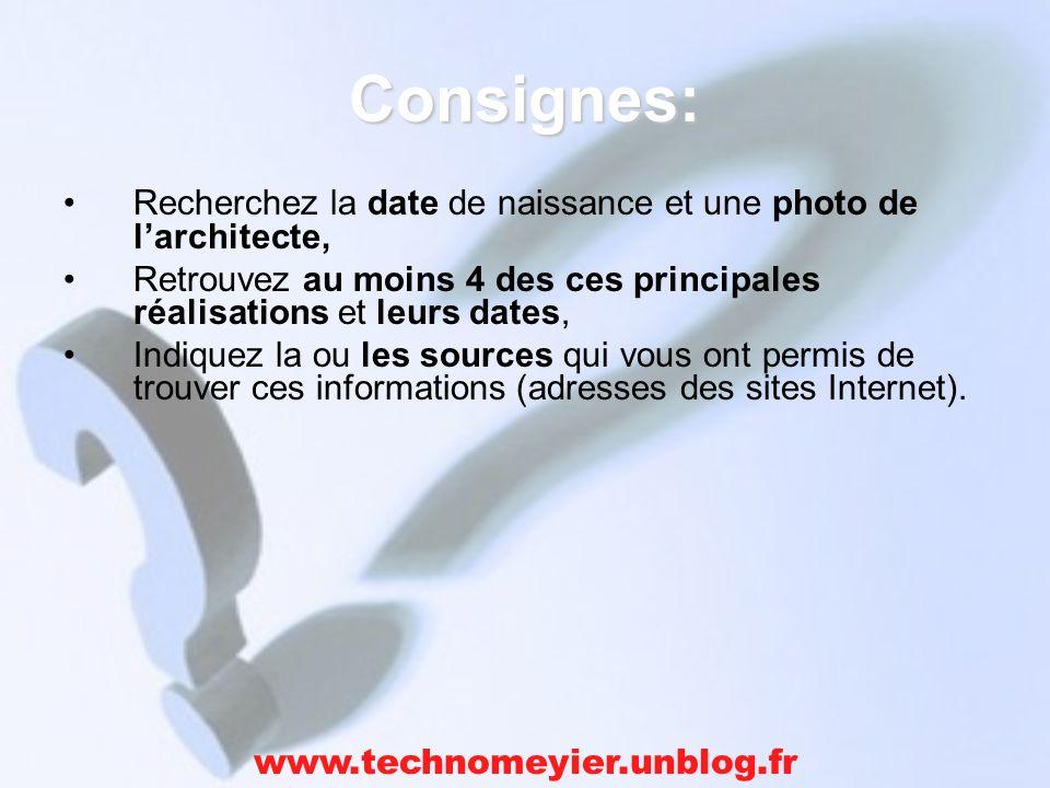 Ressource: www.google.fr www.technomeyier.unblog.fr