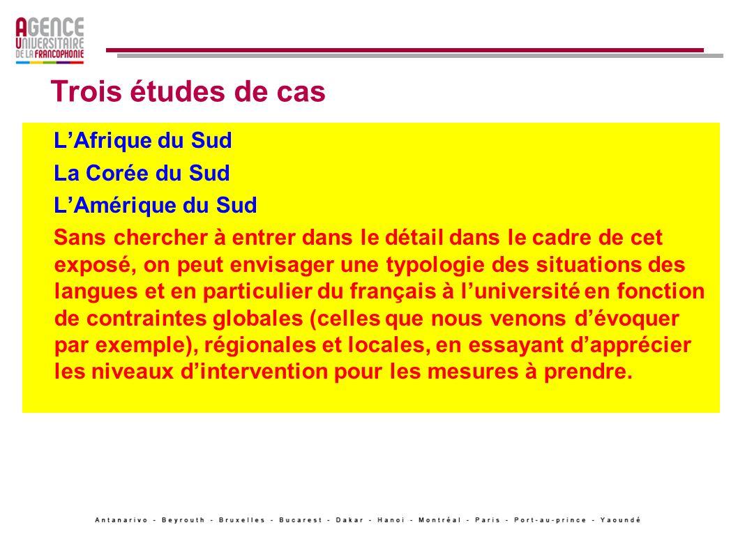 On parle beaucoup depuis plusieurs années, de réformes curriculaires pour adapter les départements de français aux besoins.