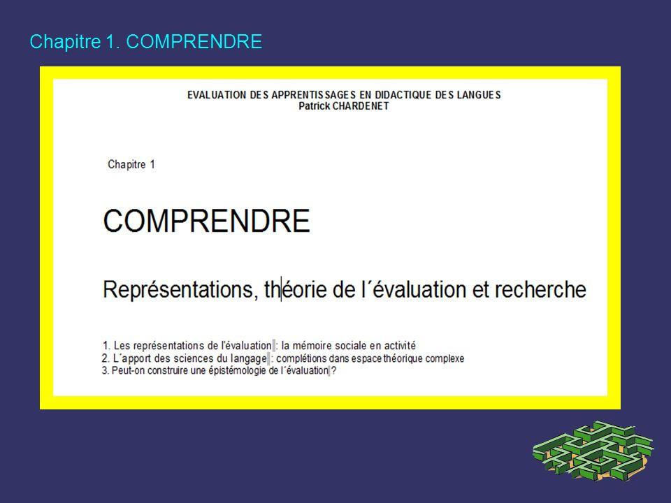 Chapitre 1. COMPRENDRE