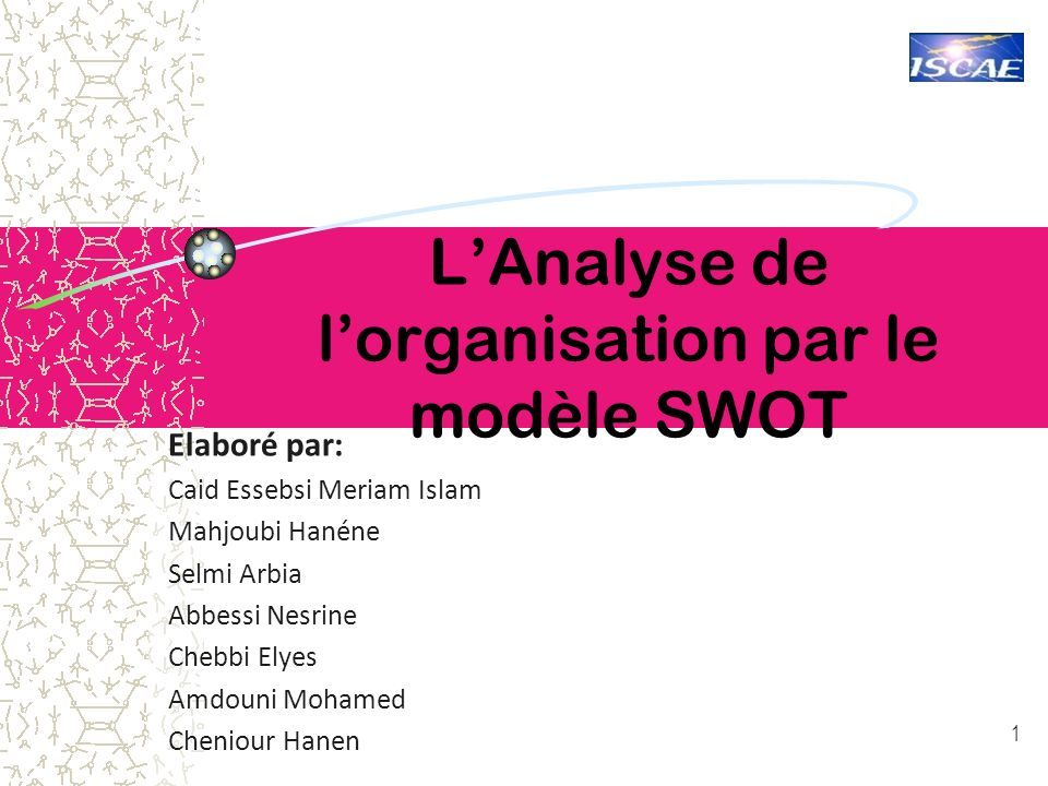 Plan 1.Historique.2.Le SWOT: Définition. 3.Pourquoi utiliser une analyse SWOT .