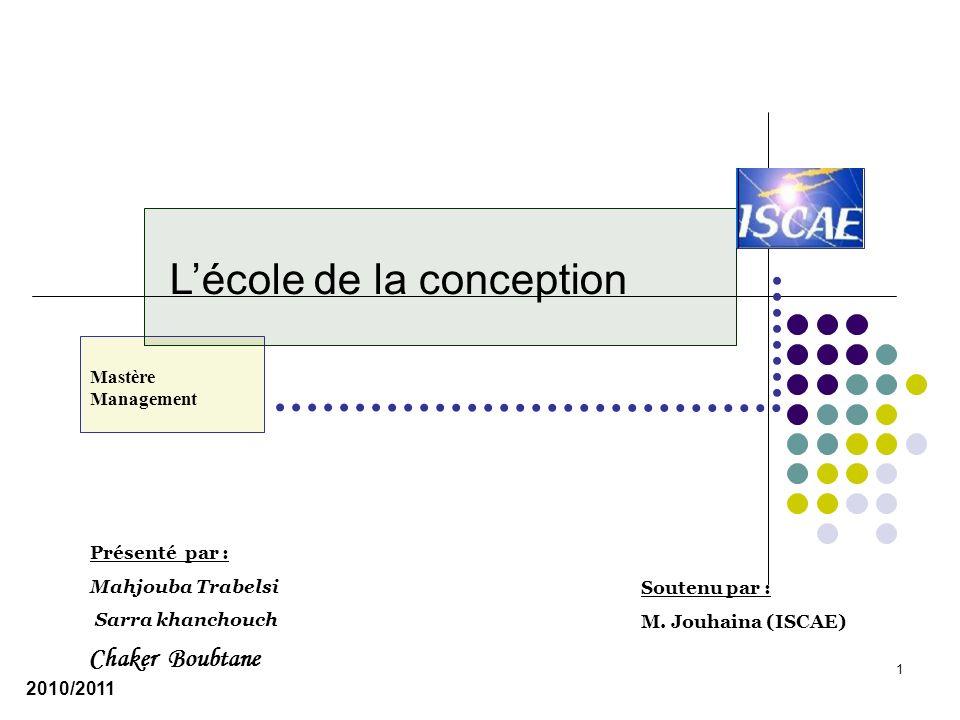 Conclusion Lécole de conception est une école normative car elle tente de rendre compte de la manière dont doit être formée la stratégie.