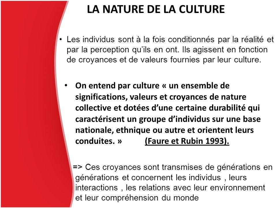 La problématique du larticle: Linfluence réelle de la culture nationale sur le processus de négociation internationale Dans quelles circonstances la culture nationale devient-elle une variable explicative du processus .