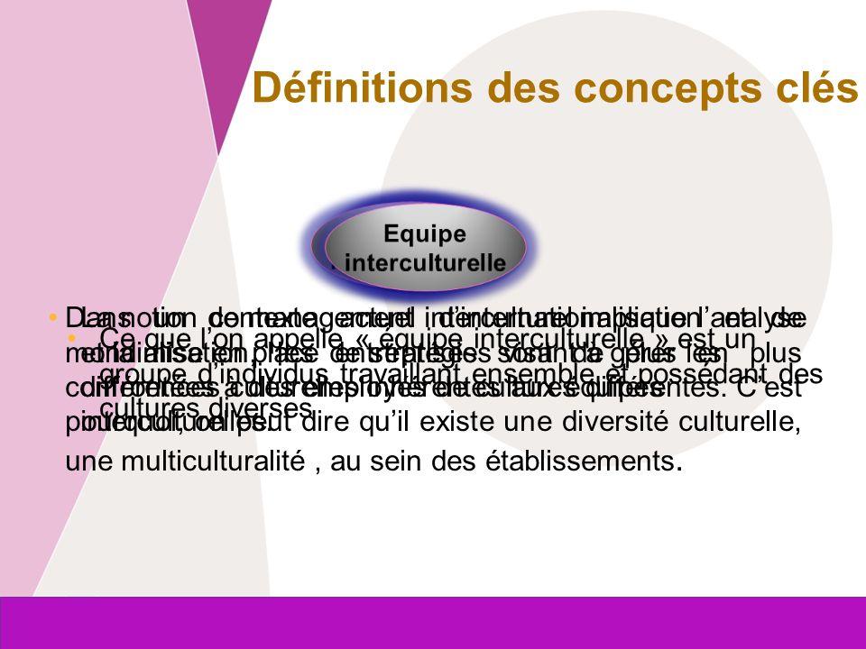 Commission européenne Entreprises et Industrie La gestion et la formation des équipes multiculturels.