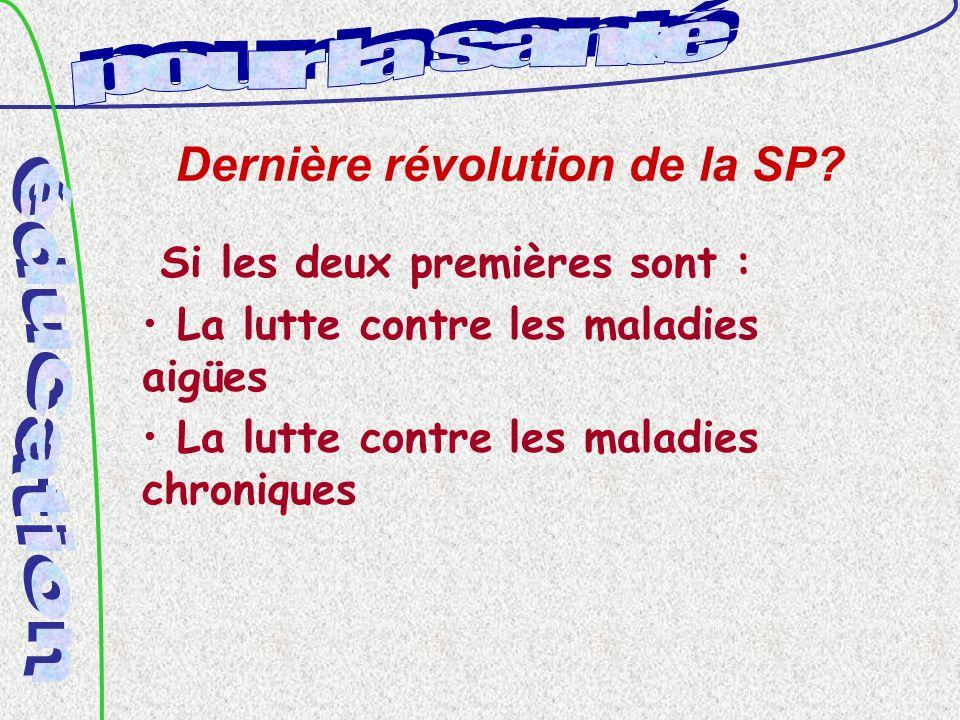 Dernière révolution de la SP.