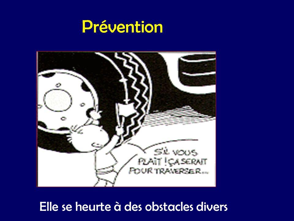 Prévention Elle se heurte à des obstacles divers