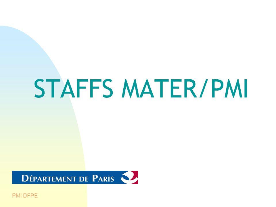 PMI DFPE STAFFS MATER/PMI