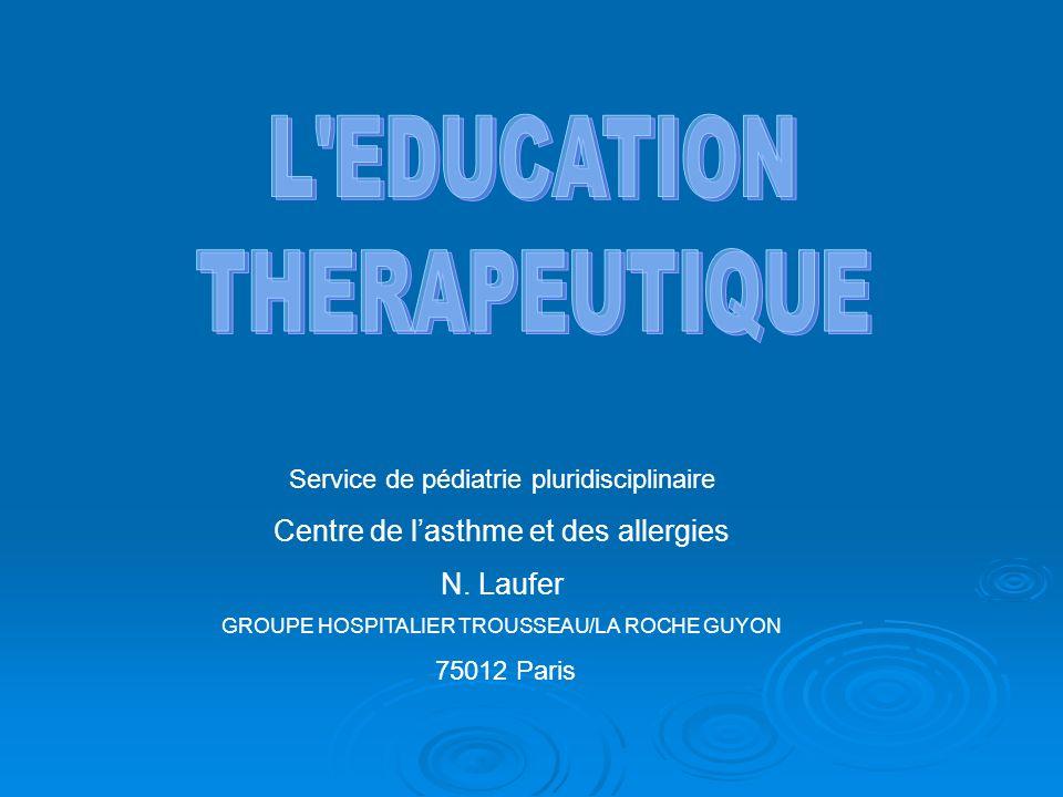 Service de pédiatrie pluridisciplinaire Centre de lasthme et des allergies N.