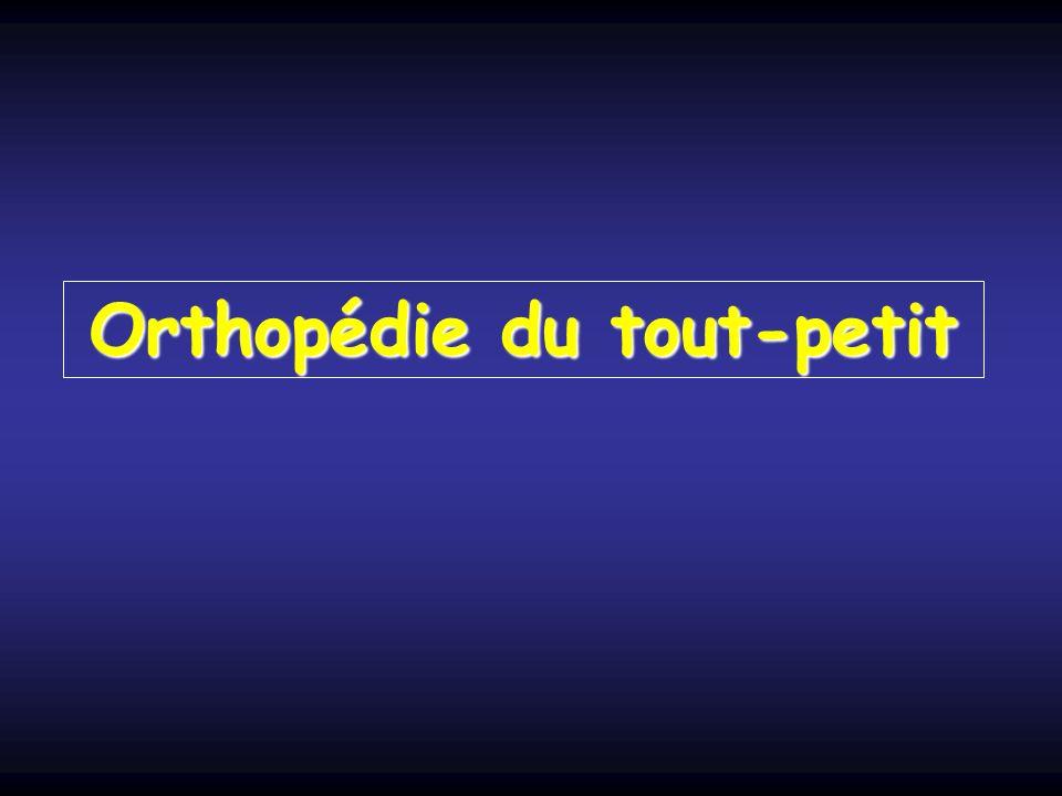 Orthopédie du tout-petit