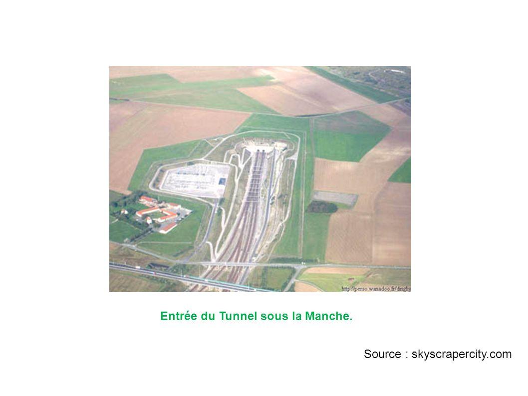 Entrée du Tunnel sous la Manche. Source : skyscrapercity.com