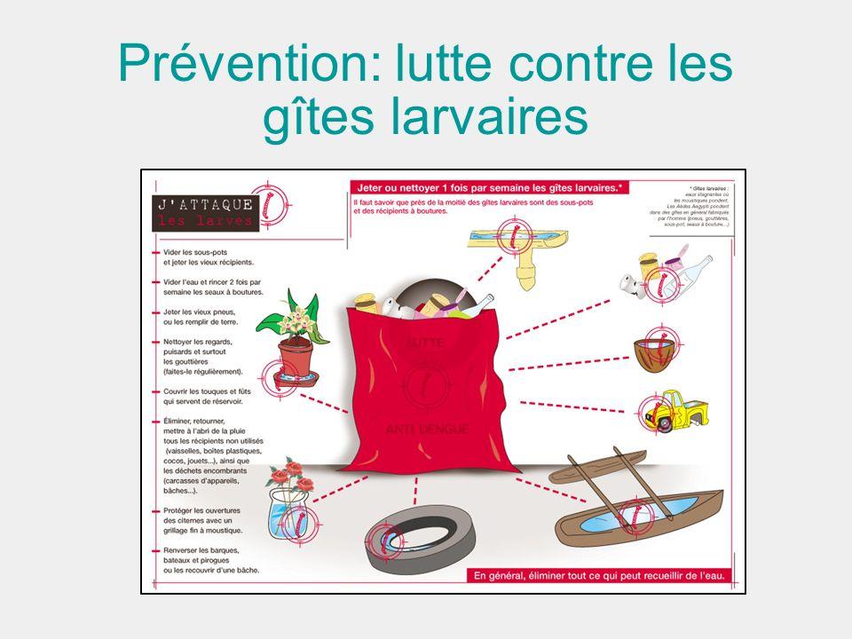 Prévention: lutte contre les gîtes larvaires