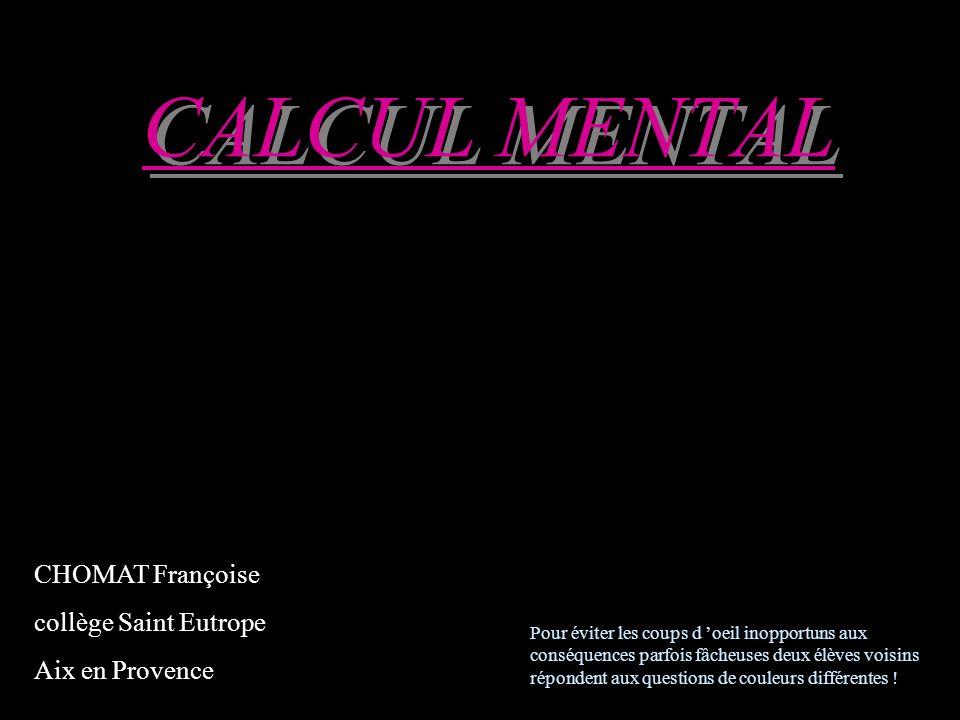 Réfléchissez! 68 X 11 67 X 11 5 eme calcul 5 eme calcul 5 eme calcul
