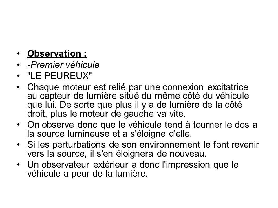 Observation : -Premier véhicule