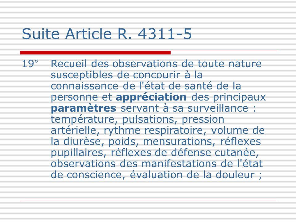 Suite Article R.