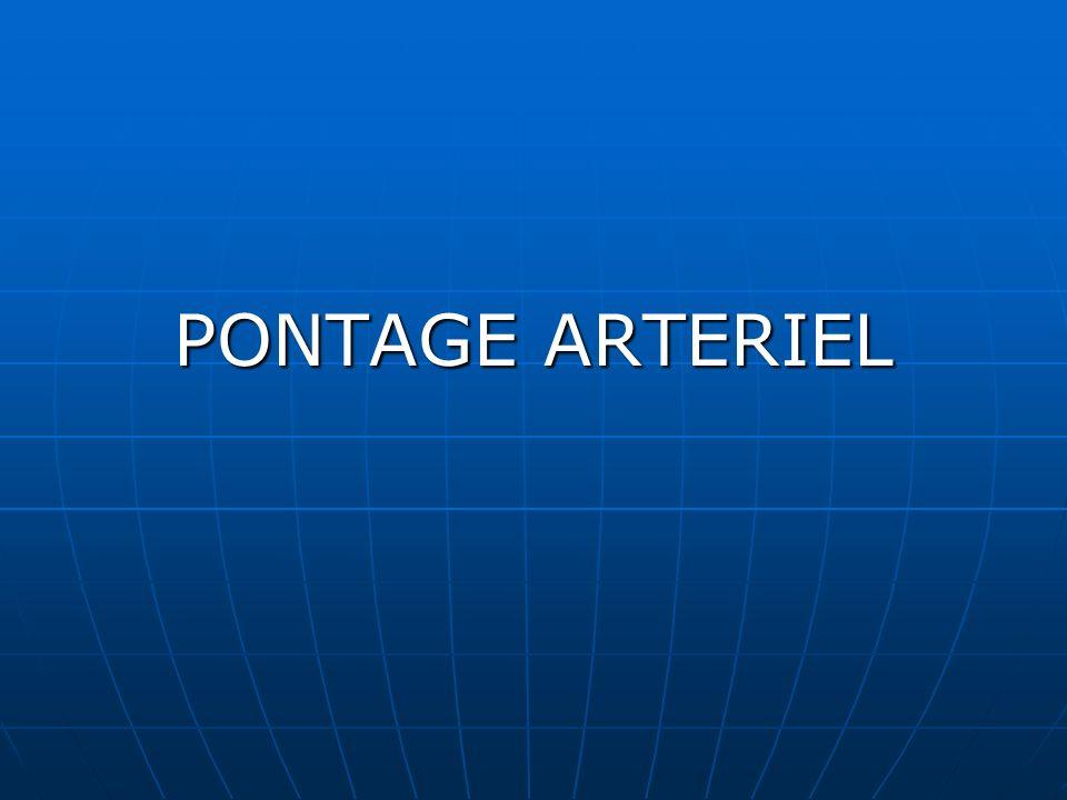 PONTAGE ARTERIEL