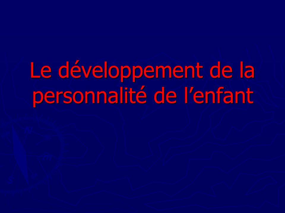 Principe fondateur : lamour inconditionnel Lenfant a avant tout besoin damour.