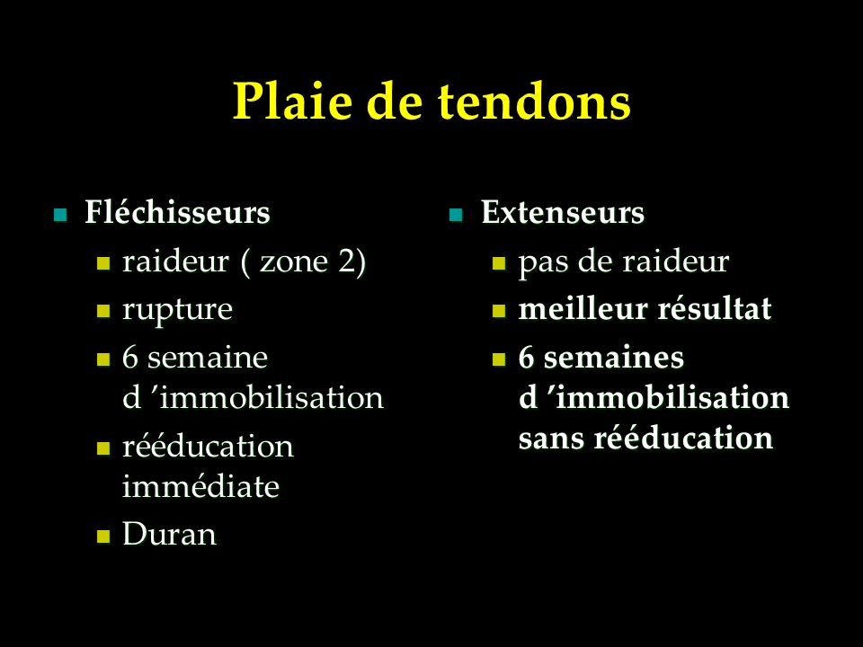 Panari de la pulpe Panari de la pulpe Ostéïte P3 Ostéïte P3 Infection gaine et tendon Infection gaine et tendon Arthrite Arthrite