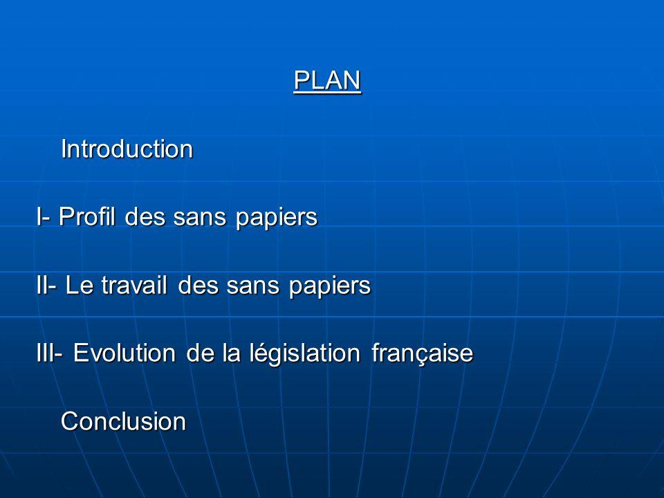 Evolution de la législation française Fin du XIXème siècle - début du XXème siècle Fin du XIXème siècle - début du XXème siècle La France devient terre dimmigration