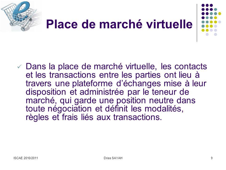 ISCAE 2010/2011Driss SAYAH50 Le cadre juridique du Commerce Electronique en Tunisie Extraits… Art.