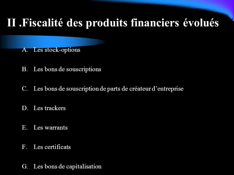 Les stock-options sont des droits attribués à des collaborateurs.