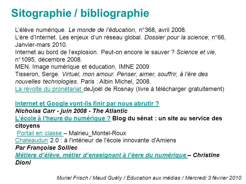 Lélève numérique. Le monde de léducation, n°368, avril 2008.