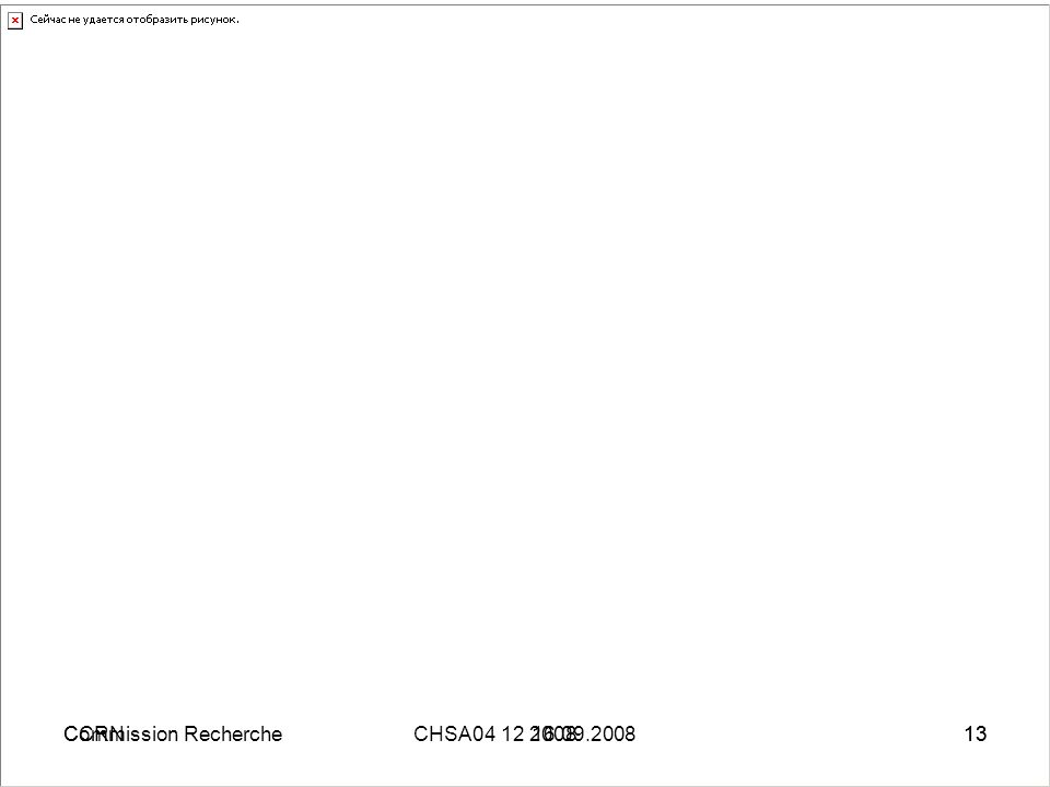 CCRN04 12 200813Commission RechercheCHSA 16.09.200813