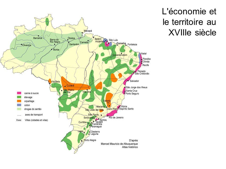 L économie et le territoire au XVIIIe siècle